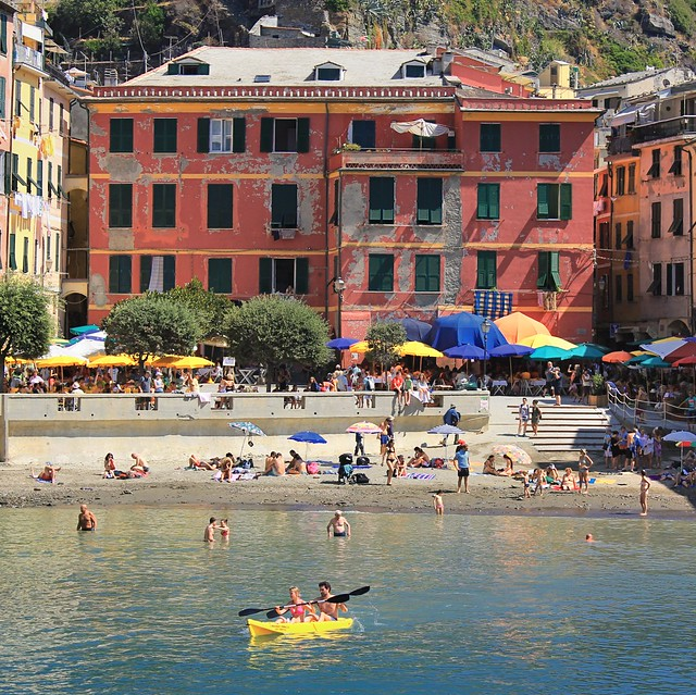 Sea Kayaking from Vernazza to Monterosso