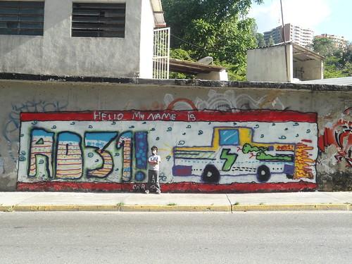 el muro...