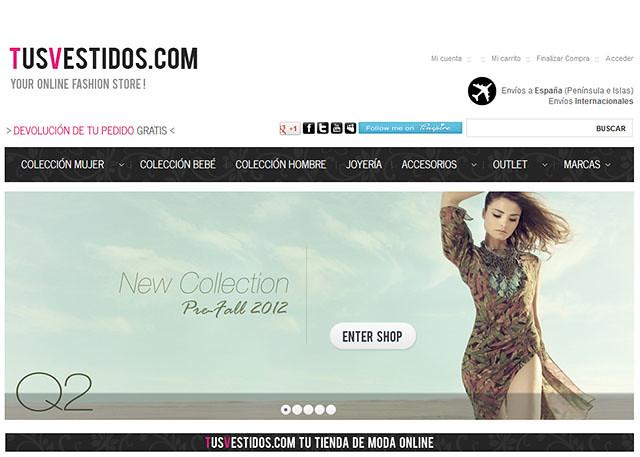 TUS VESTIDOS mejores outlet online moda