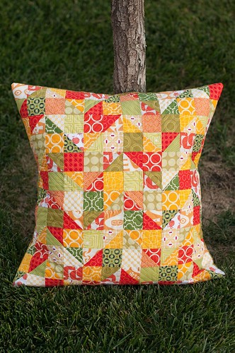 Autumn Fire and Rain Pillow