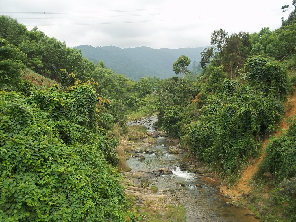 Valley near Kham Duc, Vietnam 1