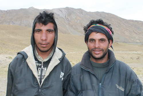 Our muleteers from Manali