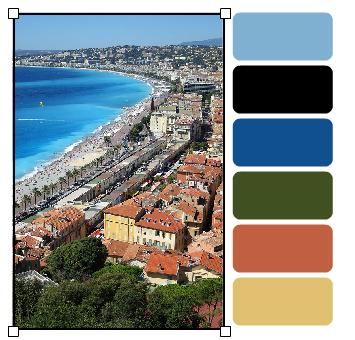 NiceTurquoiseOrange_palette