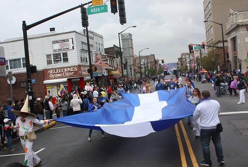bandera gigante de asociacion cuzcatlan