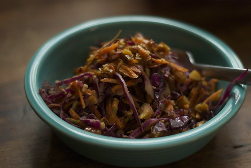 cabbage carrot slaw