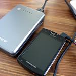2千円台で10000mAhの大容量モバイルバッテリー「cheero Power Plus」大活躍中