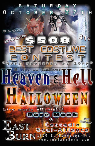 Heaven & Hell Portland Halloween Party @ East Burn