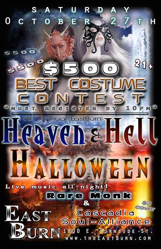 Heaven & Hell Portland Halloween Party @ East Burn