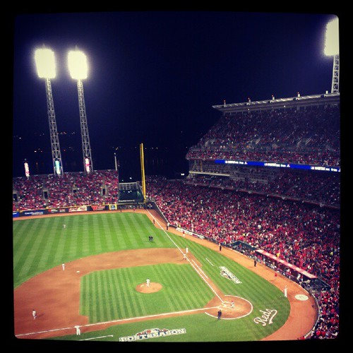 #Reds game three of the NLDS #postseason versus the #Giants.