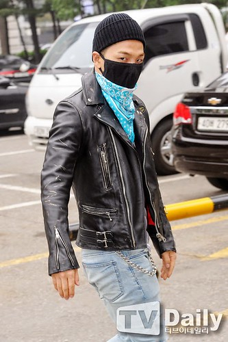 Taeyang BIGBANG KBS Music Bank arrival 2015-05-15 PRESS015
