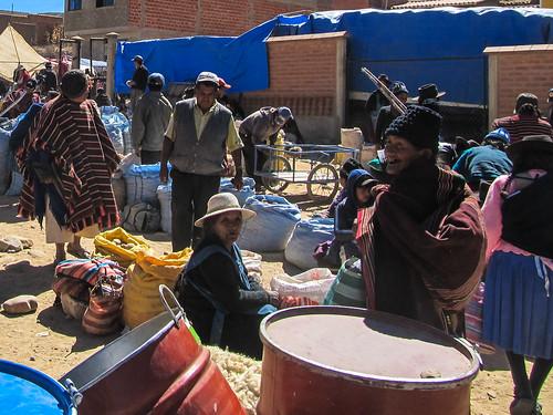 Tarabuco: le marché agricole