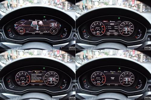Audi A4數位儀表