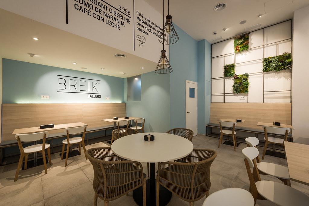 Reformas en barcelona dise o interior cafeter a for Diseno de interiores cafeterias pequenas