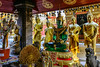 Doi Suthep, Thailand, Green Glass Buddha