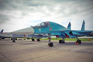 Су-34 Sukhoi Su-34 Fullback