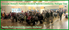 Maryam Monsef's National Electoral Reform Community Dialogue Tour