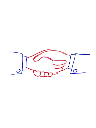 hand shaking image By Tsahi Levent-Levi
