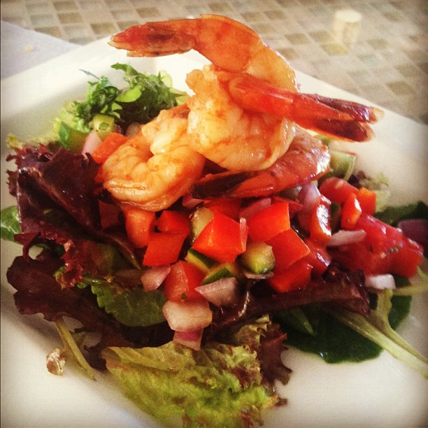 Shrimp gazpacho salad #food #color 8-29-12 | Explore stevend ...