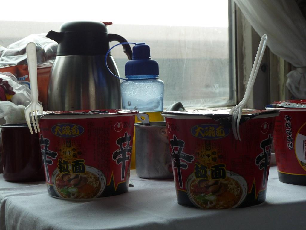 Instant noodles... (Transiberià)