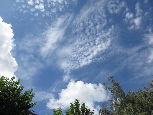 Cielo sobre Santiago by treboada