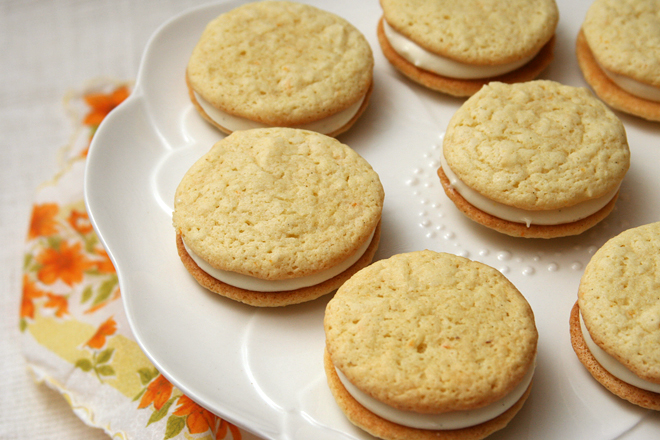 creamsicle whoopie pies 6