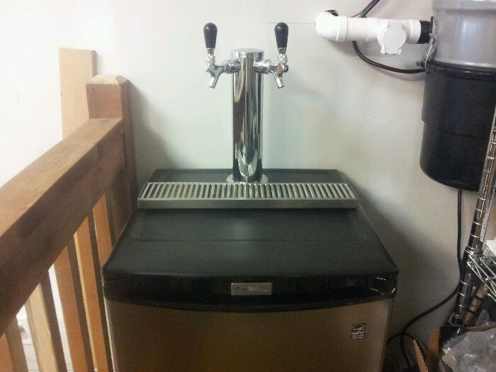 Trail Brewing kegerator