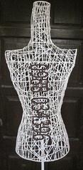 Manocanh sắt kết bằng sợi đan dày cực đẹp
