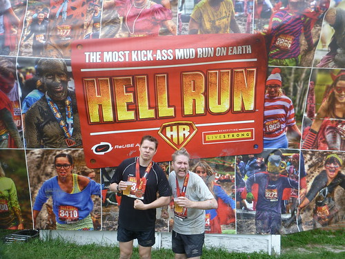 Shaun and Fuzzy at Hell Run Chicago