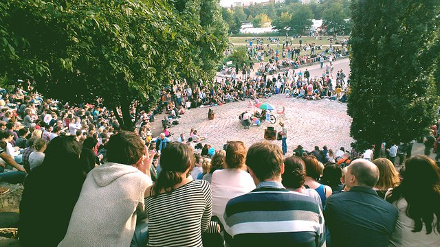 When in Berlin, go to Karaoke at Mauer Park #lumia900