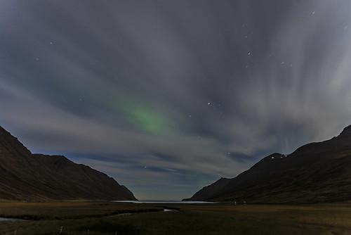cloud night clouds evening iceland aurora kvöld norðurljós héðinsfjörður