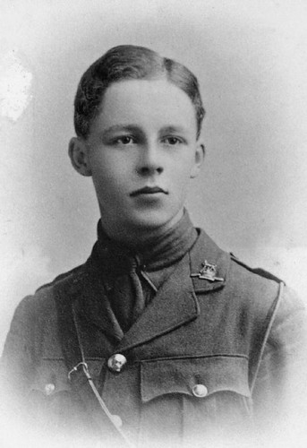 young English man in uniform