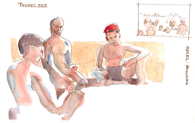 Urban Sketchers: 09/fkk boys