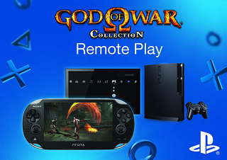 Uso Remoto no PS Vita - God of War Collection