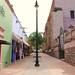 Callejon  en la ciudad de Calvillo, Aguascalientes. por roblestjorge