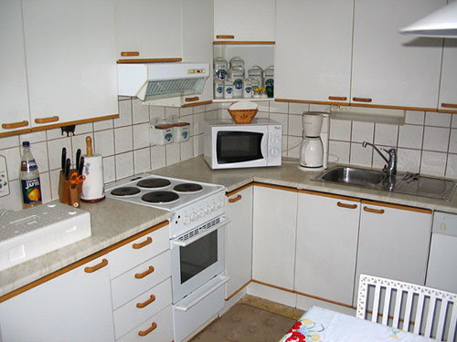 Kitchen before we moved in