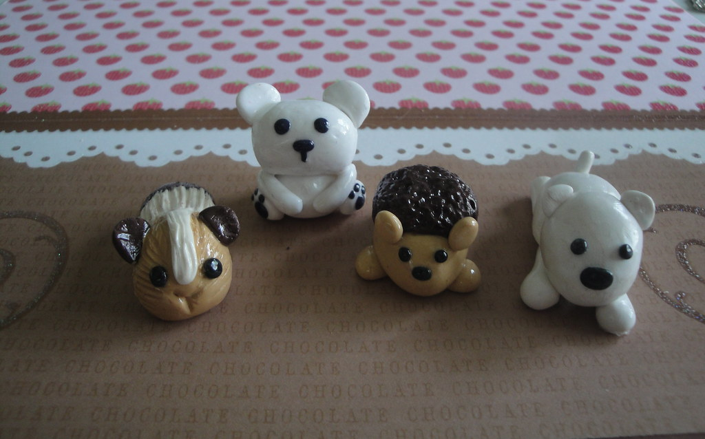 Image of: Porcelana Fria Picturesbosscom Polymer Clay Animals Kathryn Flickr