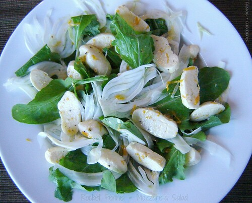 Rocket, Fennel & Mozzarella Salad 2