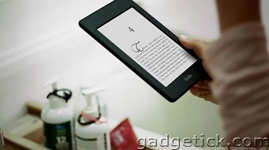 Реклама новых устройств Amazon Kinlde