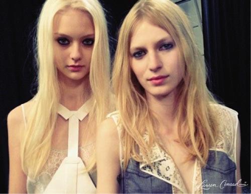 Fashion Week: Backstage at BCBG
