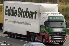 Volvo FH 460 6x2 Tractor - PX10 DBO - Julie Dawn - Green & Red - Eddie Stobart - M1 J10 Luton - Steven Gray - IMG_6138