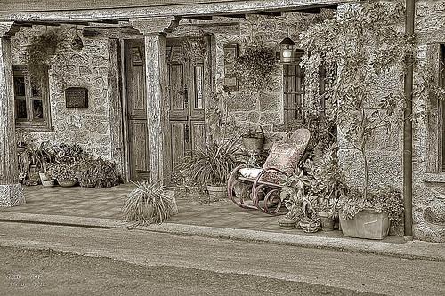 un pequeño descanso....  ( Infiesto,  Piloña 2012 )