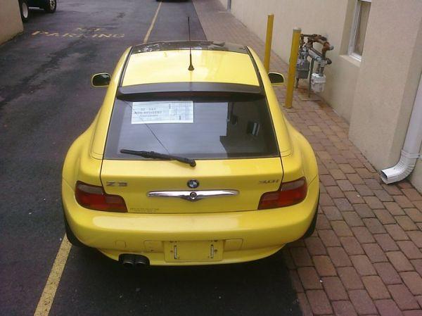 2001 Z3 Coupe | Dakar Yellow | Dream Red