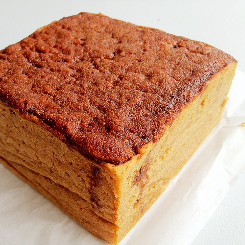 crackly crunchy coffee cake