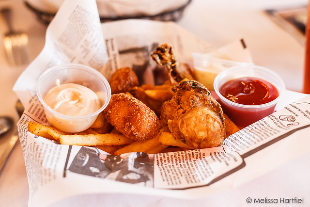 Cod Nuggets and Deep Fried Oysters