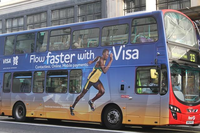 Usain Bolt Visa ad