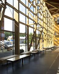 Sibelius Hall Truss Wall