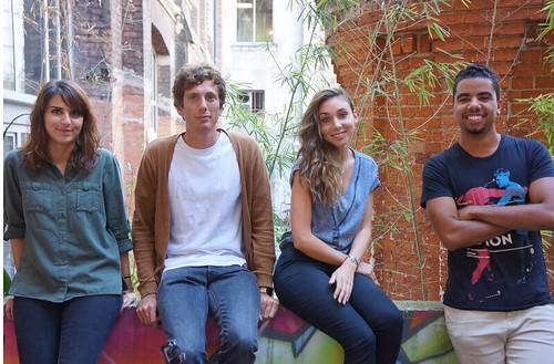 Alix, Guillaume, Laura & Yannick