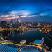 180 degree Marina Bay,Singapore