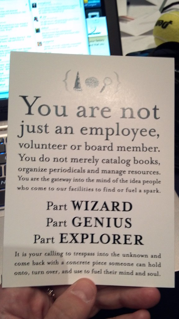 You are not just an employee....