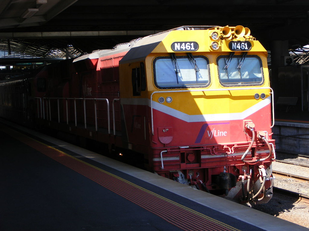 V Line N461 Southern Cross 03.03.10 by Andy Cole